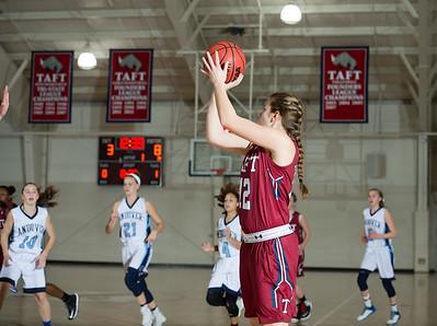 Girls' Varsity Basketball v Andover