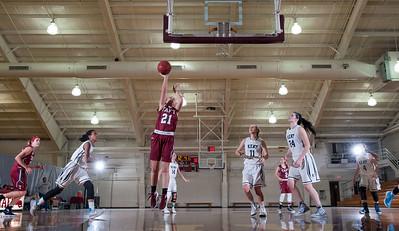 Girls' Varsity Basketball v Kent