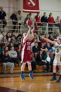 Playoff's Round-One Girls' Varsity Basketball vs Deerfield