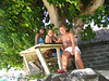 Simone and Marieke, from Holland, whom I met and hung out with in Bora Bora.