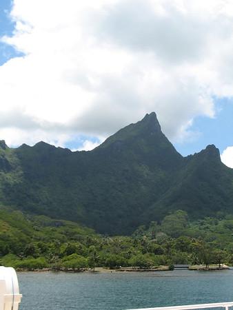 Moorea - Aremiti Ferry from Papeete, Arrival Moorea