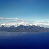 Moorea in the distance