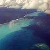 The beautiful waters of Tahiti