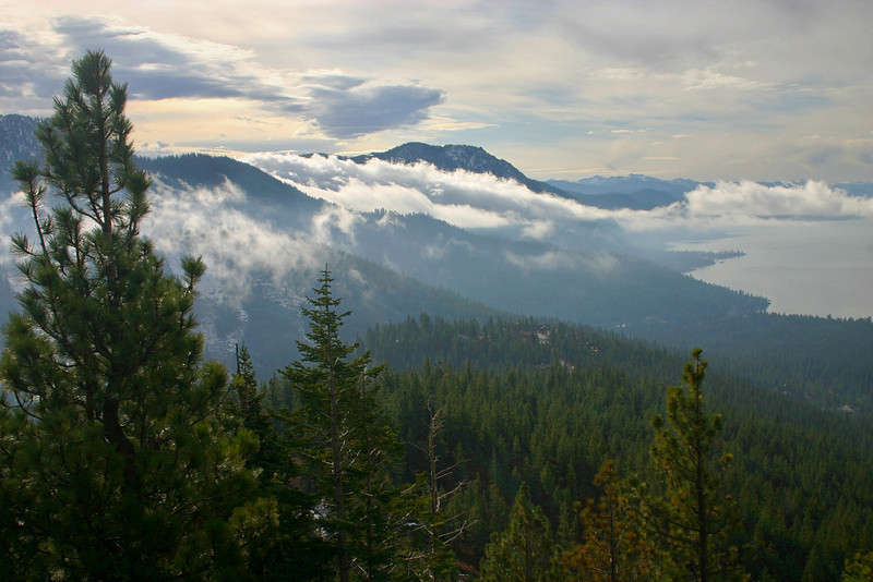 11/8/2008 Mount Rose HW, Morning Cloud