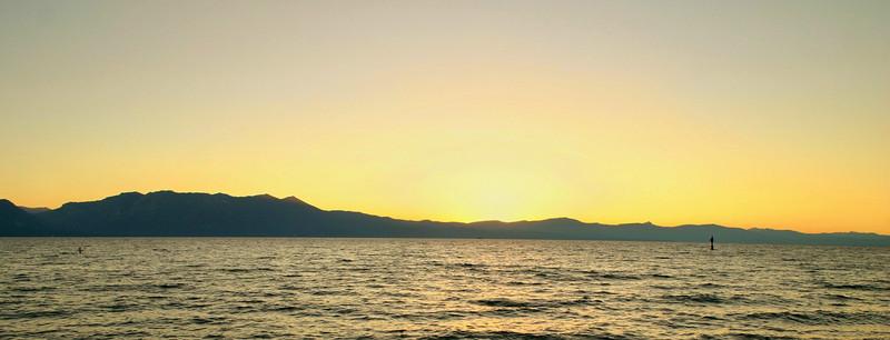 8/11/2008: Nevada Beach Sunset