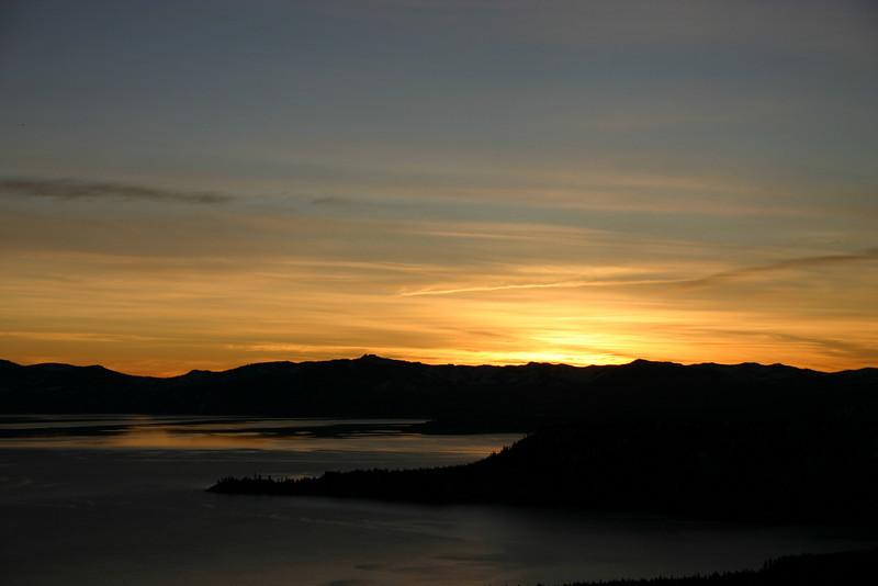 1/11/2009 Sunset Mt. Rose HW431