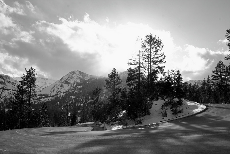 3/8/2009 Emerald Bay Pass B&W