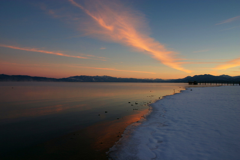 11/21/2009 Tahoe Sunset