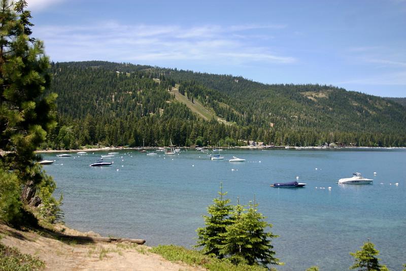 Homewood Ski Resort, From McKinney Bay