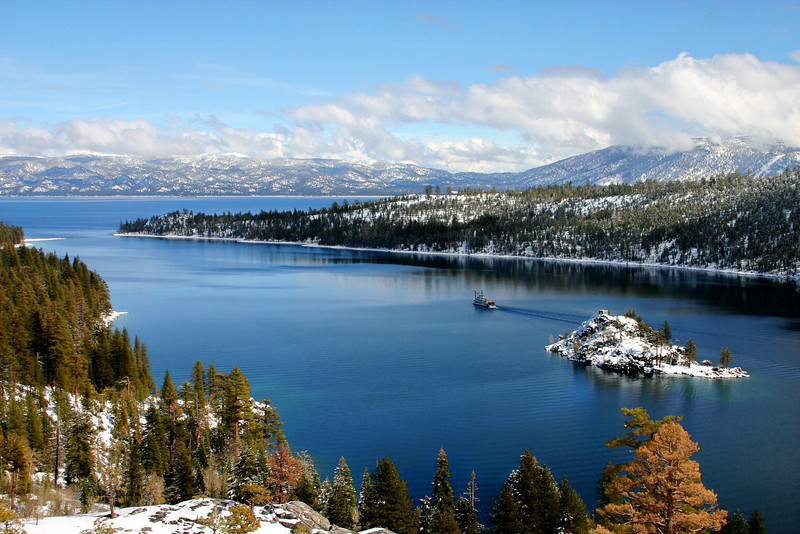 Emerald Bay, Winter