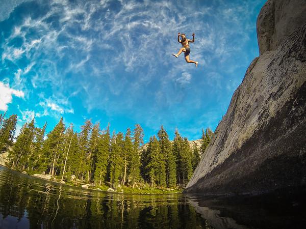 Paradise Lake Jump - Truckee