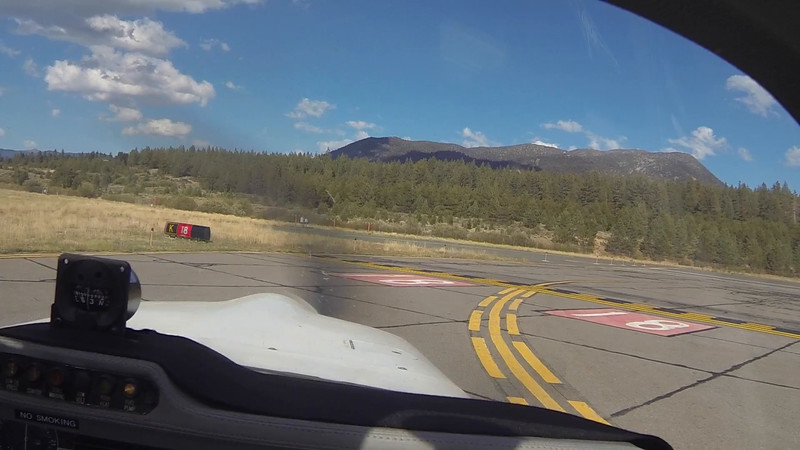 Tahoe departure