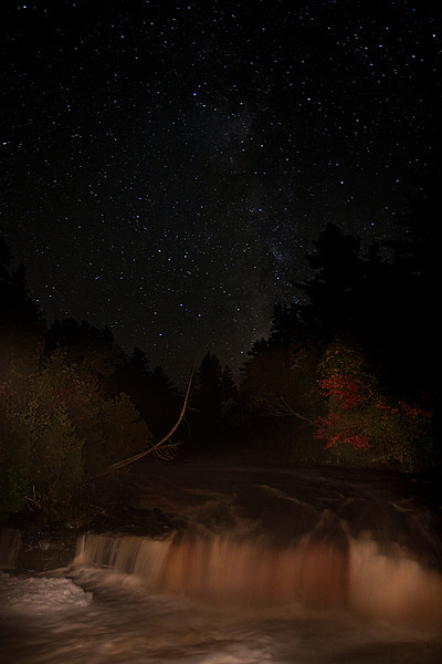 Tahquamenon Falls at Night