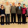 Advanced Tai Chi & Push-Hands class: Elaine, Siewjoo, Simon, Stephan, Nancy, Virginia, Treacy.