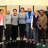 Tai Chi II class - from left: Elaine, Cindy, Virginia, Nancy, Pat, Sara, Maud.