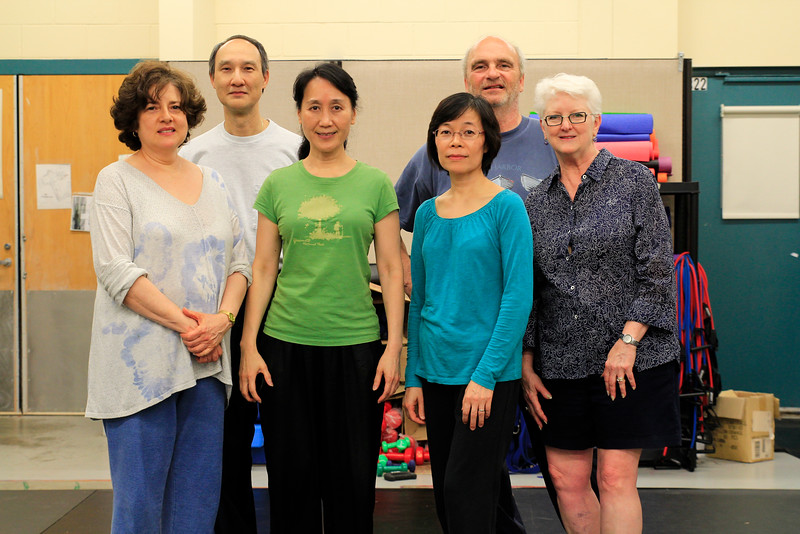 Taken on Tuesday 6/16: Rosalie, Ed, Virginia, Lucia, Stephan & Treacy  - missing Ling in the last class.