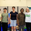 Taken on Thursday 6/18: Elaine, Virginia, Nancy, Maud & Cindy - missing Sara in the last class.