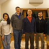 From left: Cho, Viriginia, Rick, Tai, Eugene, Ben.