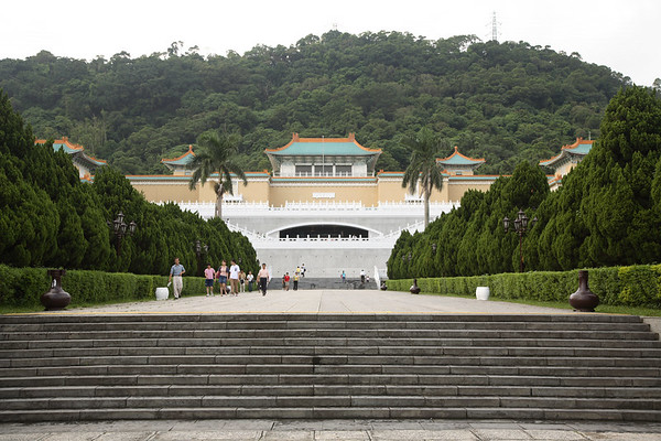 National Palace Museum - I spent four long hours here, but it was very interesting.