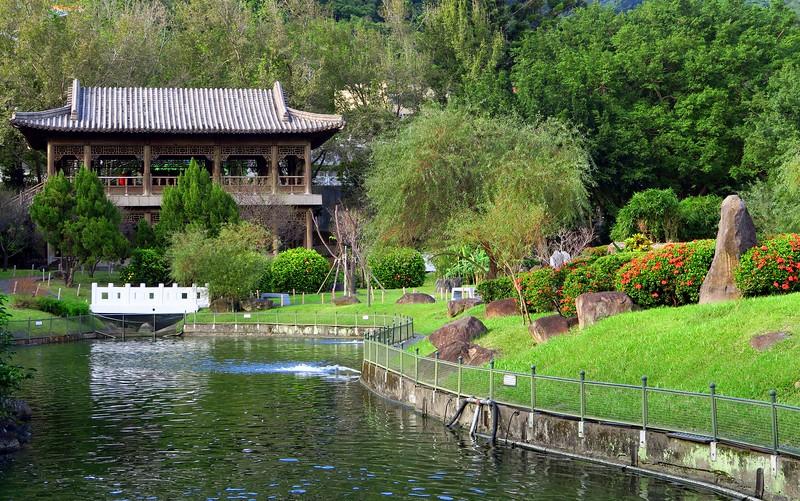 Chih Shan Gardens in Taipei