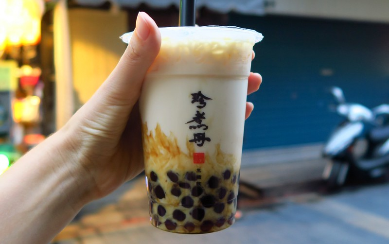 Bubble tea in Taipei