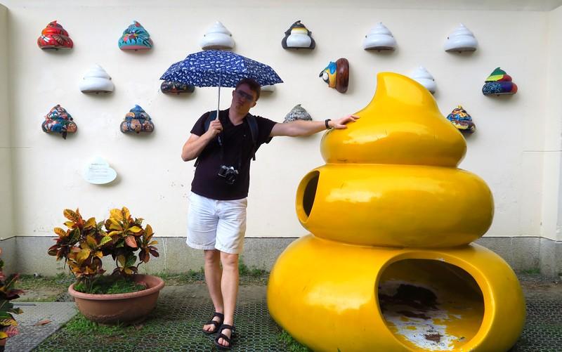 Swirls of poo in Taipei