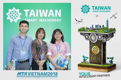[PhotoboothSaigon] Taiwan Smart Machinery Photo Booth @ MTA Vietnam 2018 Day 2