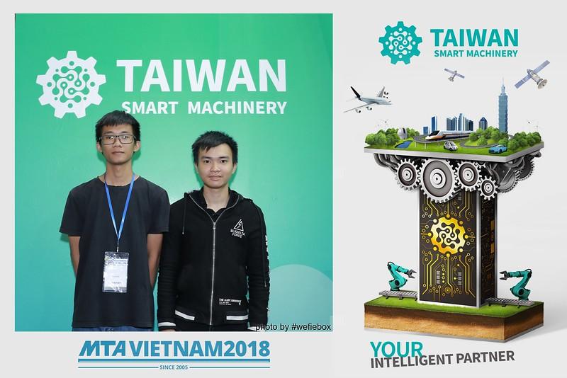 Taiwan Smart Machinery Photo Booth @ MTA Vietnam 2018 - Day 3