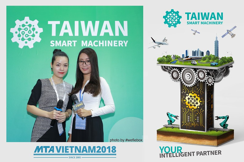 Taiwan Smart Machinery Photo Booth @ MTA Vietnam 2018 - Day 3