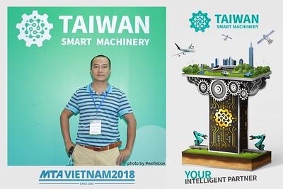 [PhotoboothSaigon] Taiwan Smart Machinery Photo Booth @ MTA Vietnam 2018 - Day 4