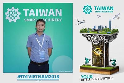 [PhotoboothSaigon] Taiwan Smart Machinery Photo Booth @ MTA Vietnam 2018