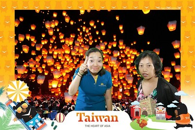 Taiwan Travel Fair 2019 @ SC Vivo City - Triển lãm du lịch Đài Loan - Green Screen Photobooth - Chụp hình phông xanh in ảnh lấy liền sự kiện tại TP. HCM
