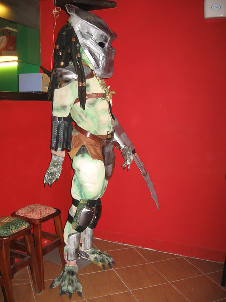 Mark's Halloween Costume - Predator