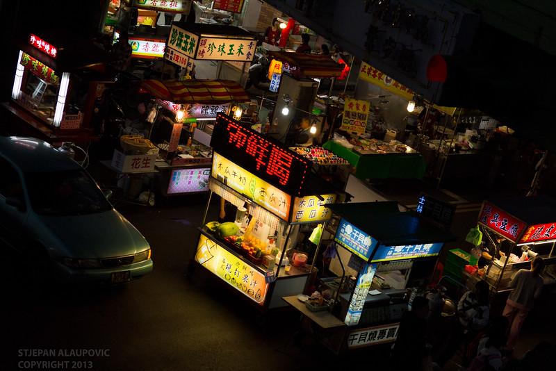 Night Market Wide Shot