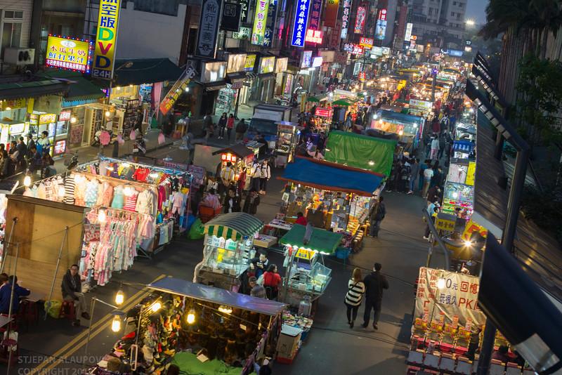 Start of the Night Market