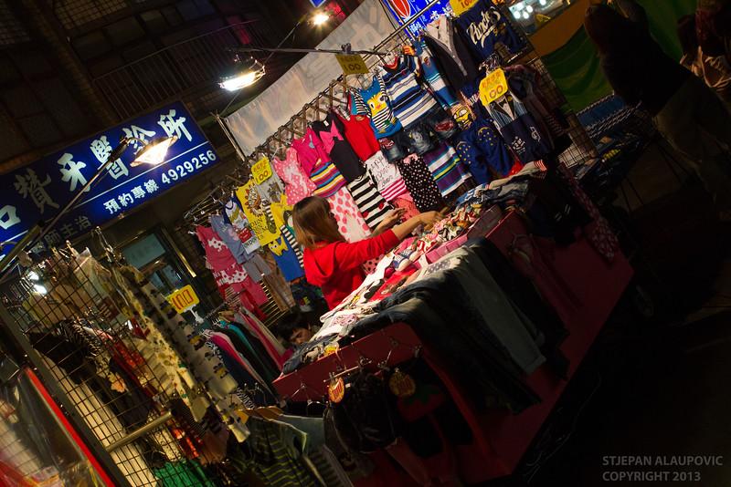 Vendor Preparing Shop