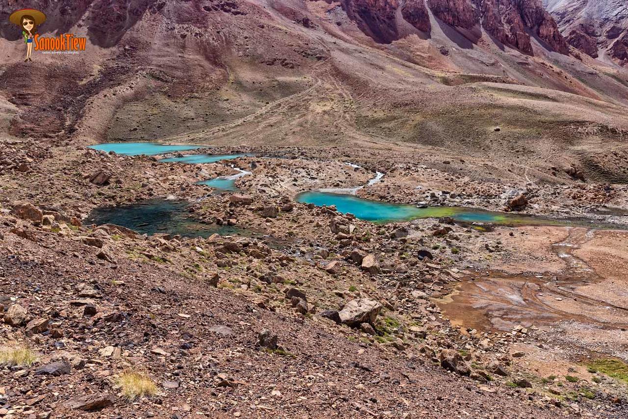 Grum Grijamilo Glacier Trek ที่ Pasor, bar tang valley Tajikistan ทาจิกิสถาน