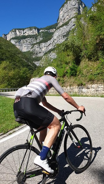 North Italian hills Monte Baldo