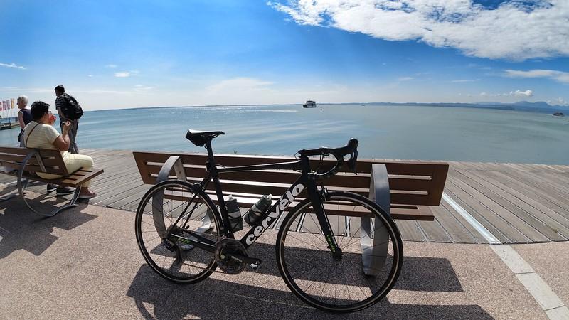 Lake Garda on a sunny day