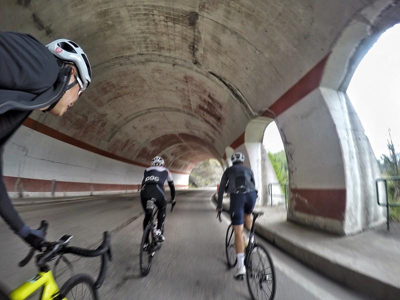 Tunnel di Passo Giau