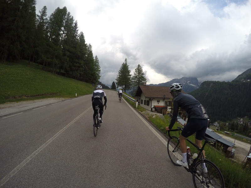 Last day in Dolomites we braved Passo Giau and attempt to come back via a loop