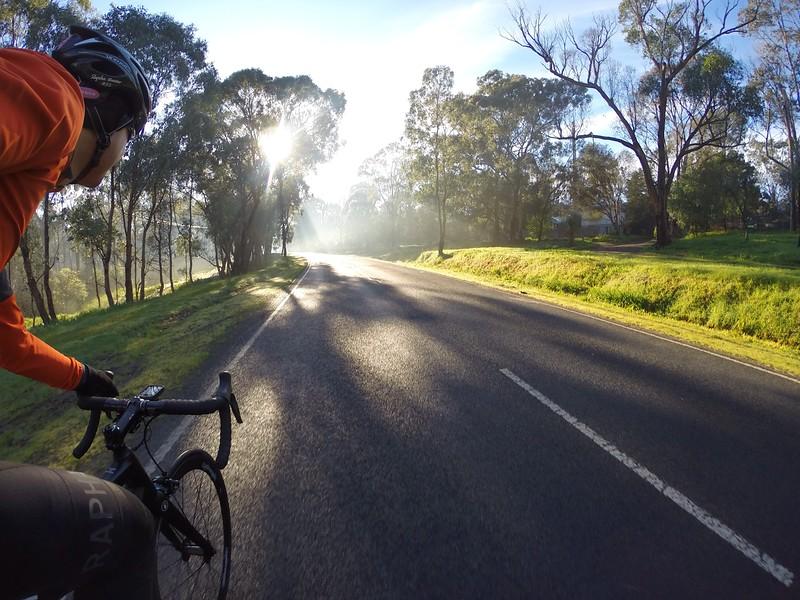 Winner of July Jaguar Cycling competition 2014 - Eltham, Victoria, Australia