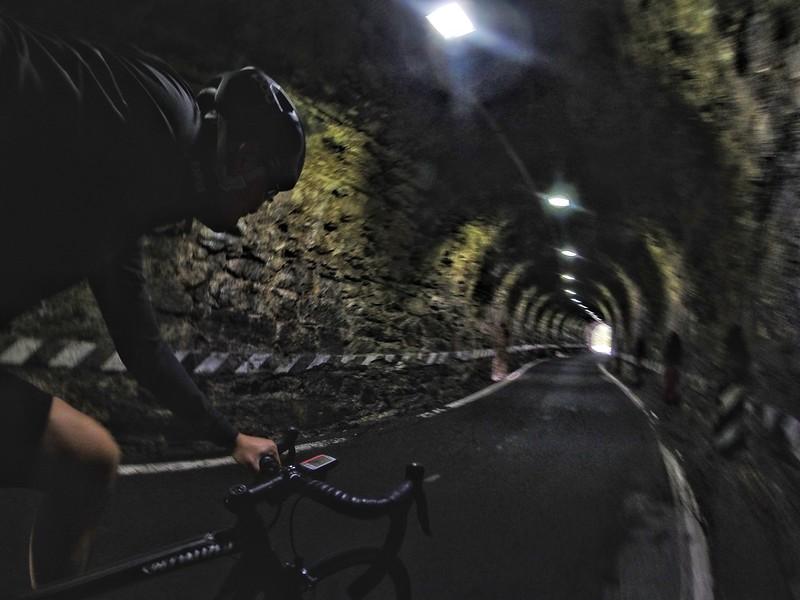 Scary mountain tunnels - Passo della Stelvio, Italy