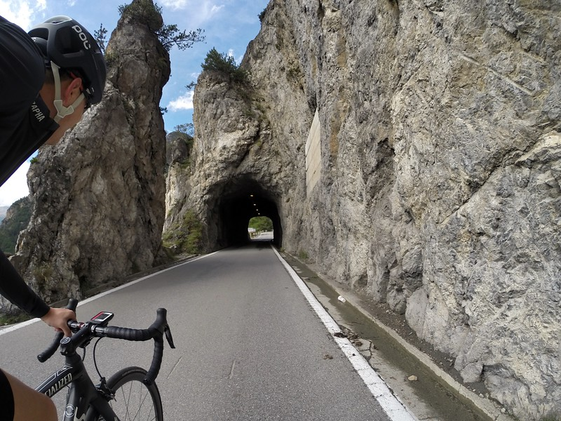 Passo della Stelvio, Italy. One of many tunnels
