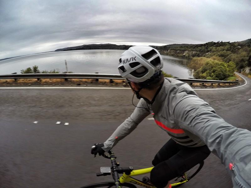 Lake Taupo - Raining