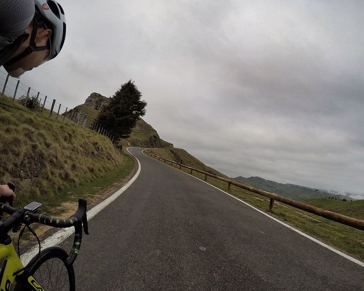 I had to ride up to Te Mata the next morning