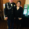 Sgt. Maj. Bill Davidson and wife Leslie of Beverly