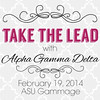 Alpha Gamma Delta's Take The Lead Challenge invite
