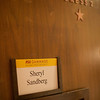 Sheryl Sandberg Dressing Room - Take the Lead Launch Event