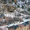 Waterton Canyon winter hike
